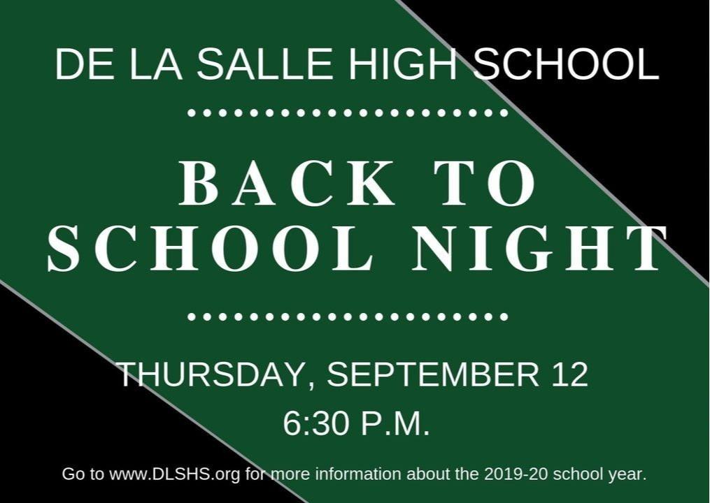 Home - De La Salle High School
