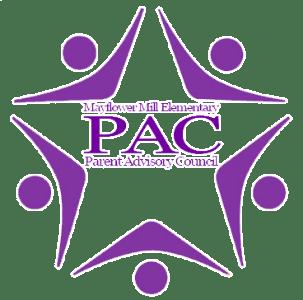 Purple and White PAC Logo