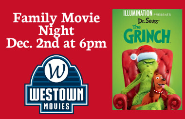 Family Movie Night Dec 2nd 6pm
