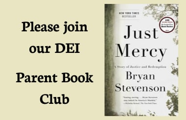 Please join us for our DEI Parent Book Club