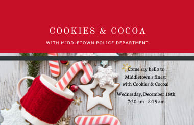 Cookies and Cocoa with Middletown Police