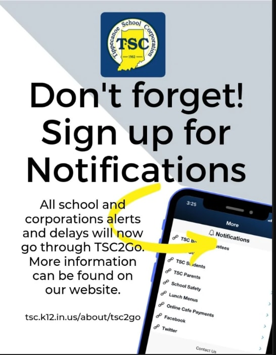 TSC Alerts and Notifications icon