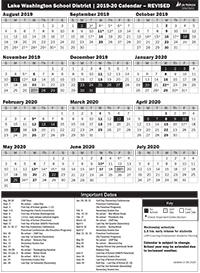 Images of Redmond School District Calendar 2021