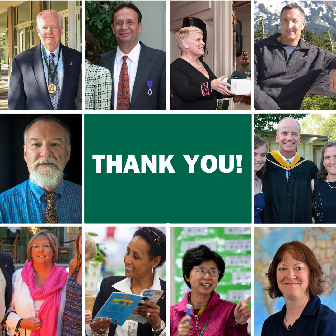 Thank you to our retiring faculty and staff!