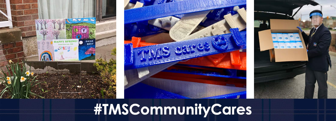 TMS: #TMSCommunityCares: Compassion In Action
