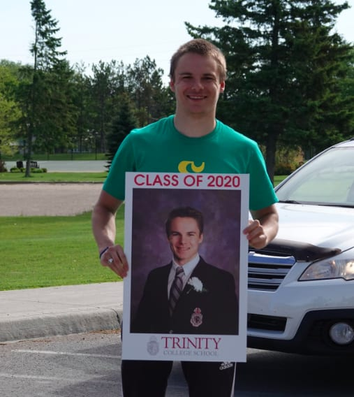 TRINITY COLLEGE SCHOOL: Celebrating the Class of 2020 in innovative way