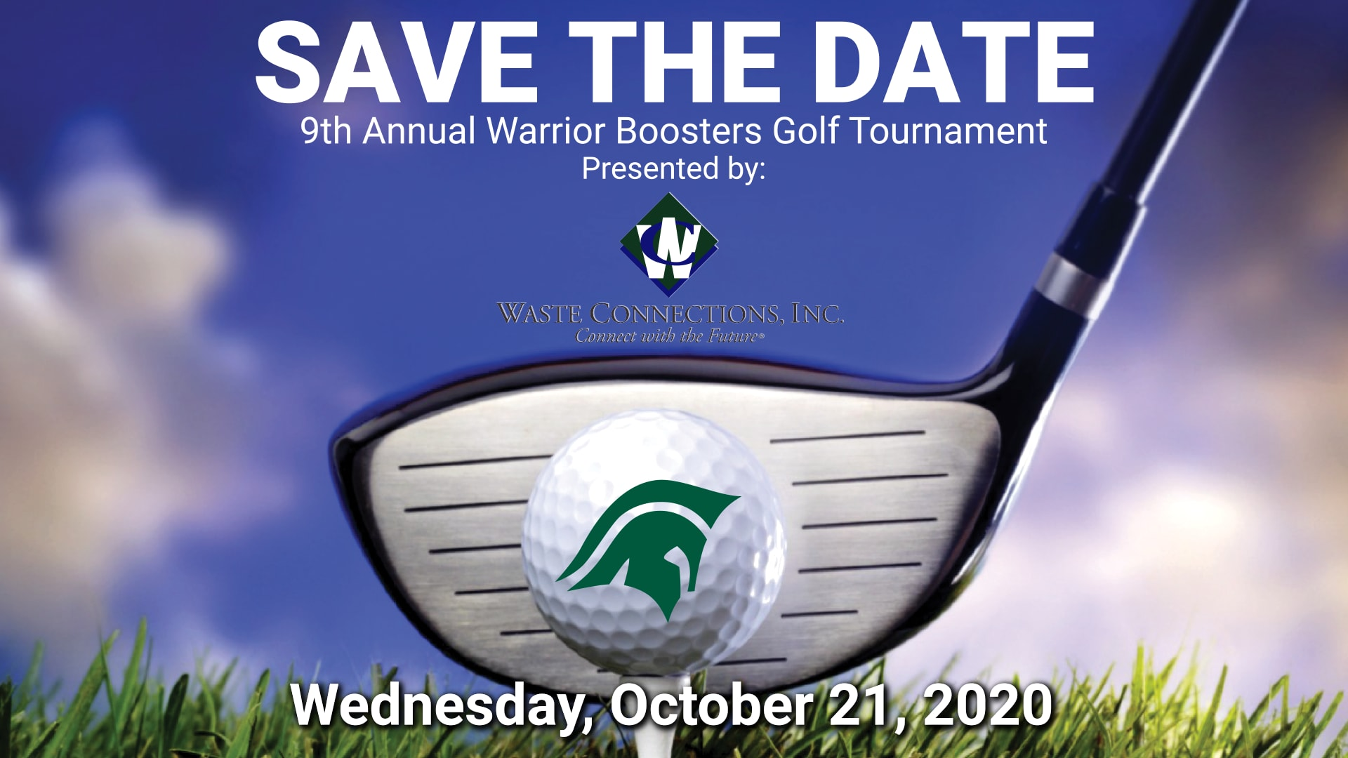 2020 Golf Tournament Save the Date