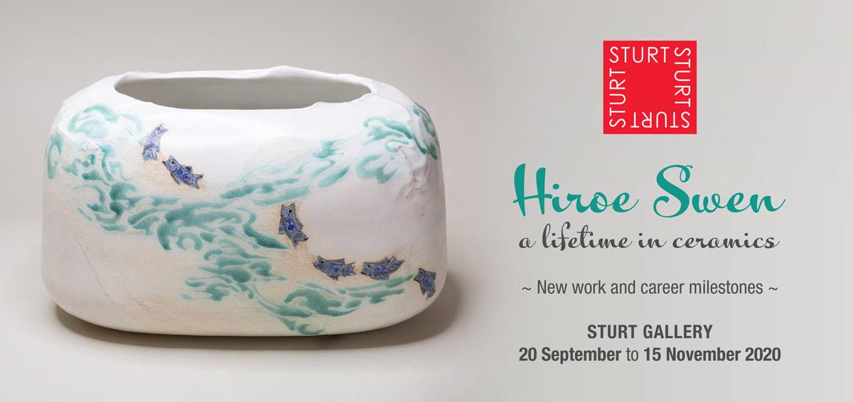 Hiroe Swen - a lifetime in ceramics
