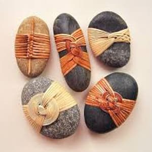 Rock wrapping with Penny Simons