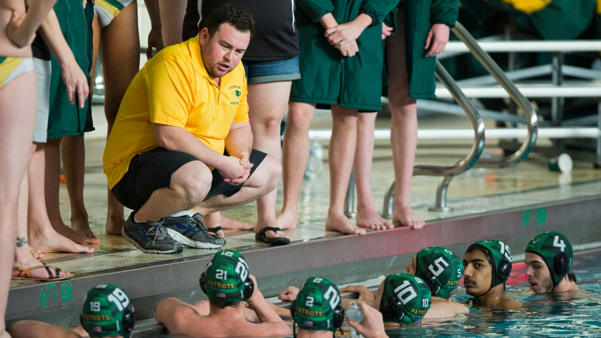 Boys Water Polo Coach Sean Wimer