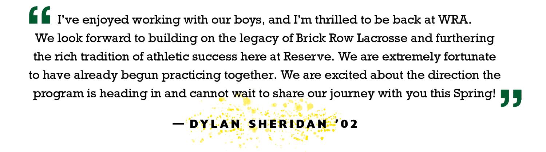 Sheridan quote