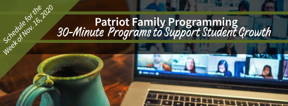 Patriot Family Programming