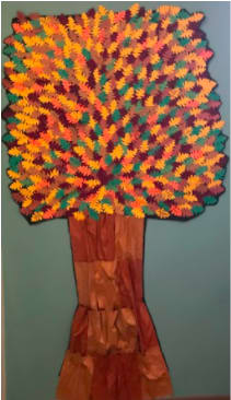Grateful together Oakwood tree