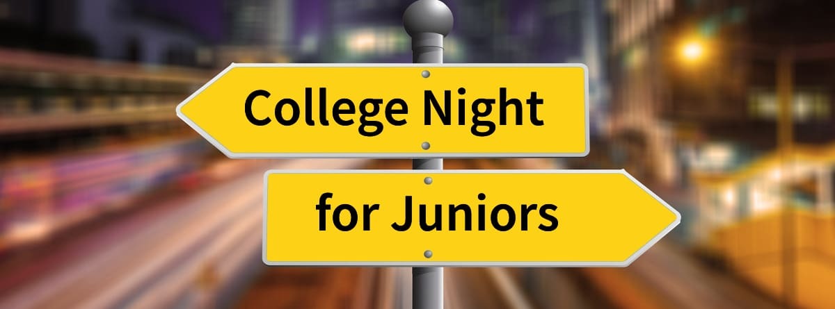 College Night for Juniors