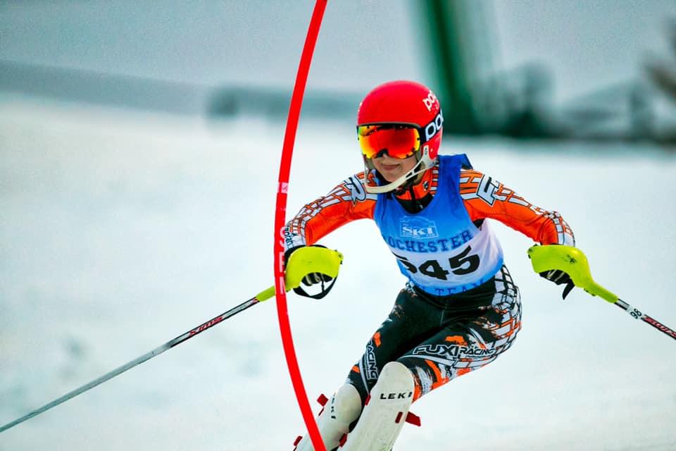 RHS Skier racing