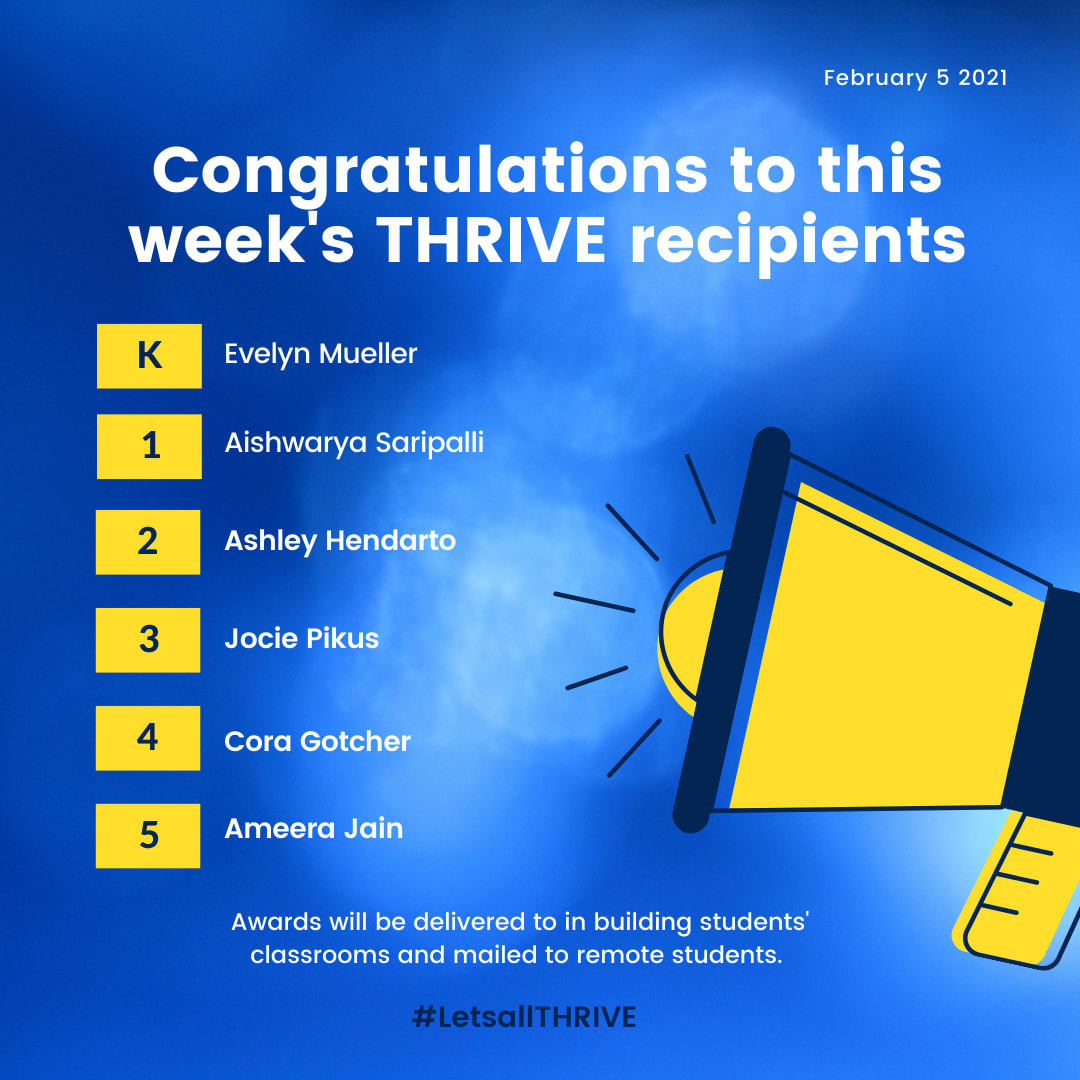 thrive recipients
