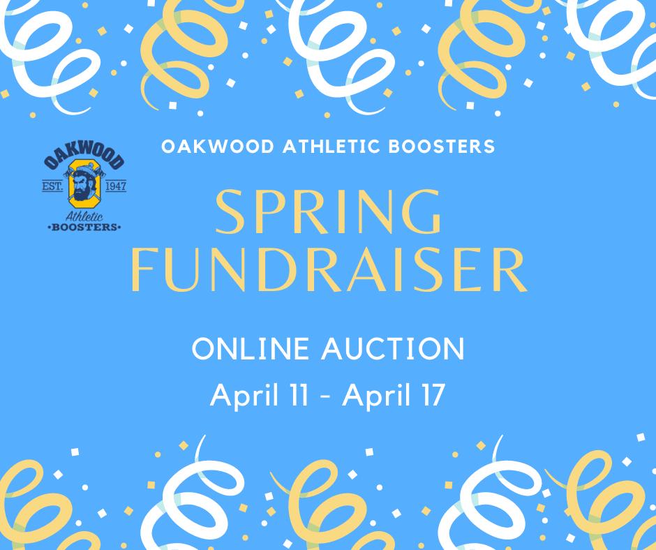 Spring Fundraiser April 11 - April 17