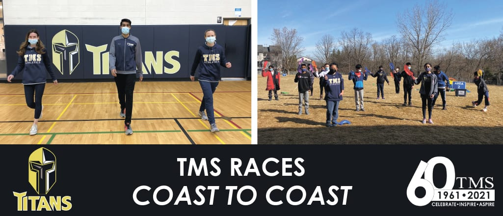 TMS Races [Virtually] Coast-to-Coast