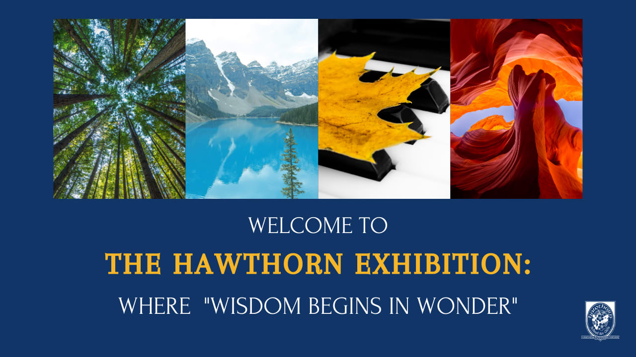 The Hawthorn Exhibition: Where ''Wisdom Begins in Wonder''