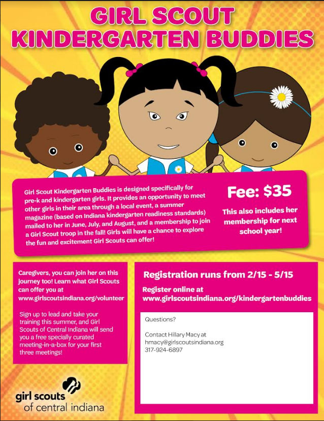 Information  about Girl Scout Buddies