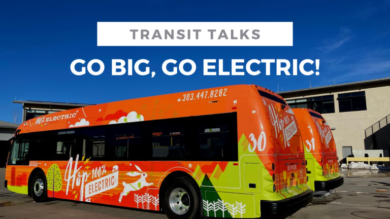 Transit Talks- Go Big, go electric