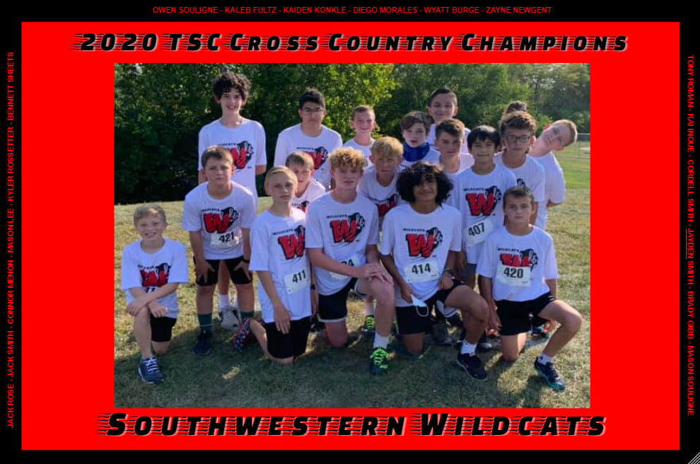 Photo of 2020 Boys Cross Country Runners