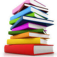 Image of a stack of textbooks