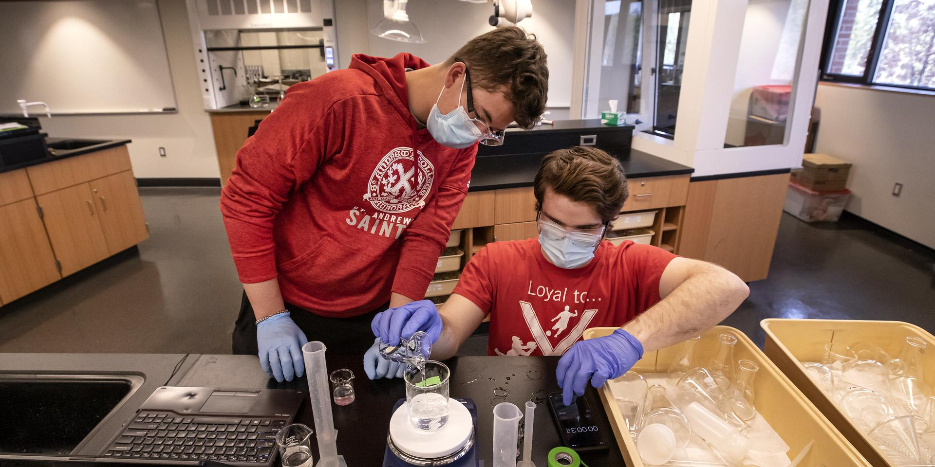 ST. ANDREW'S COLLEGE - Sci-tech students in their element at St. Andrew's College