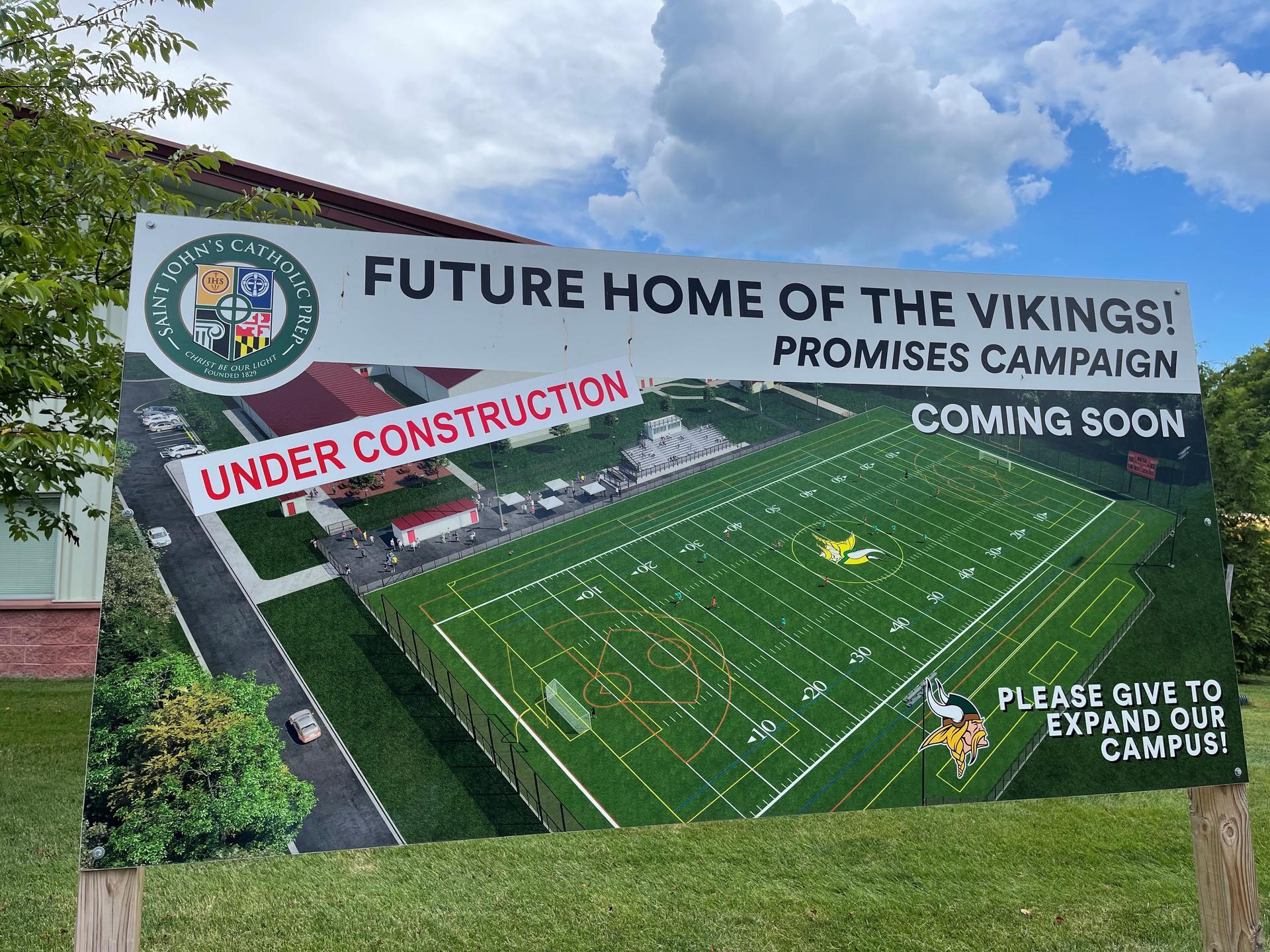 Future Home of the Vikings!