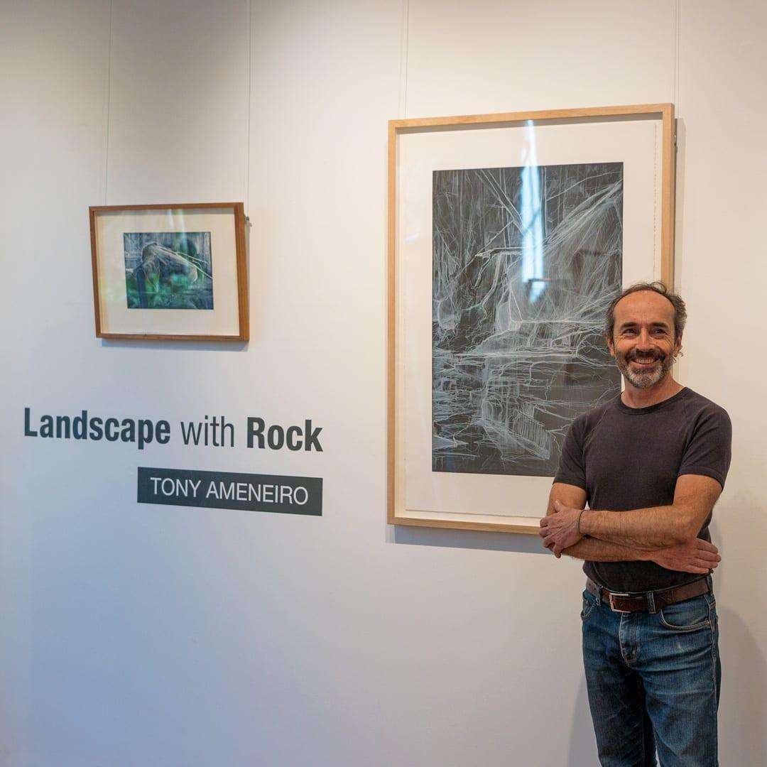 Tony Ameneiro in the Gallery