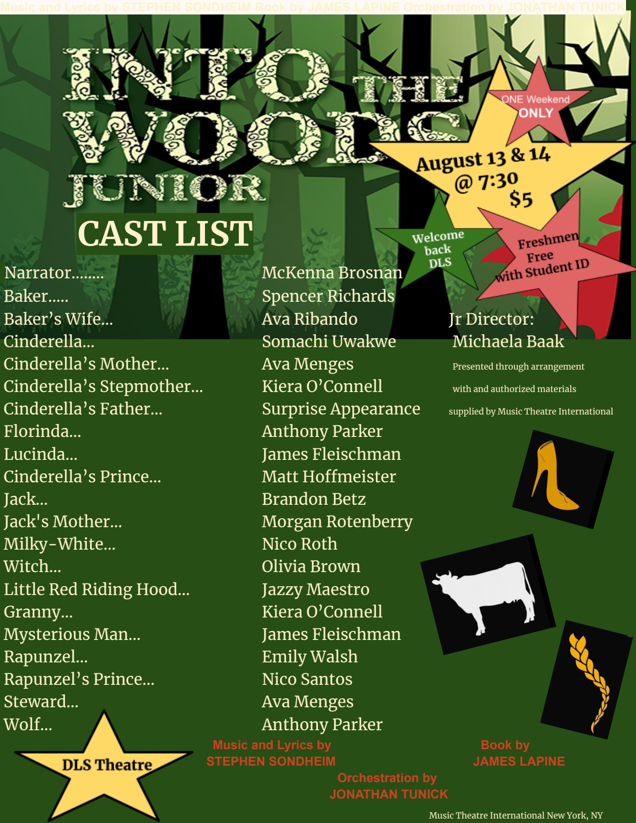 Into the Woods Graphic