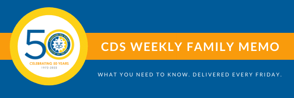 CDS Weekly Parent Memo Header