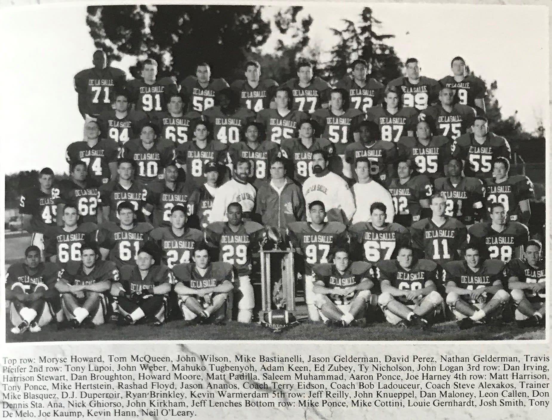 1994 Football Team Photo