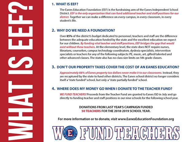What is EEF?