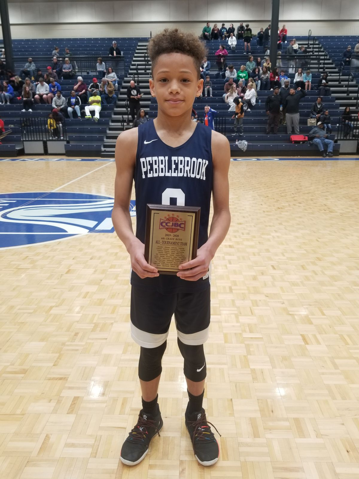 Sixth Grader Wins 1st Named Mvp In Basketball Competition