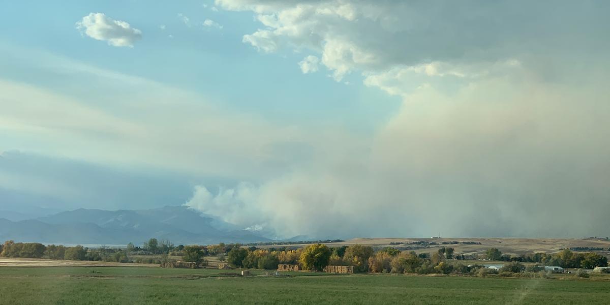 Noticias sobre el incendio en CalWood 3