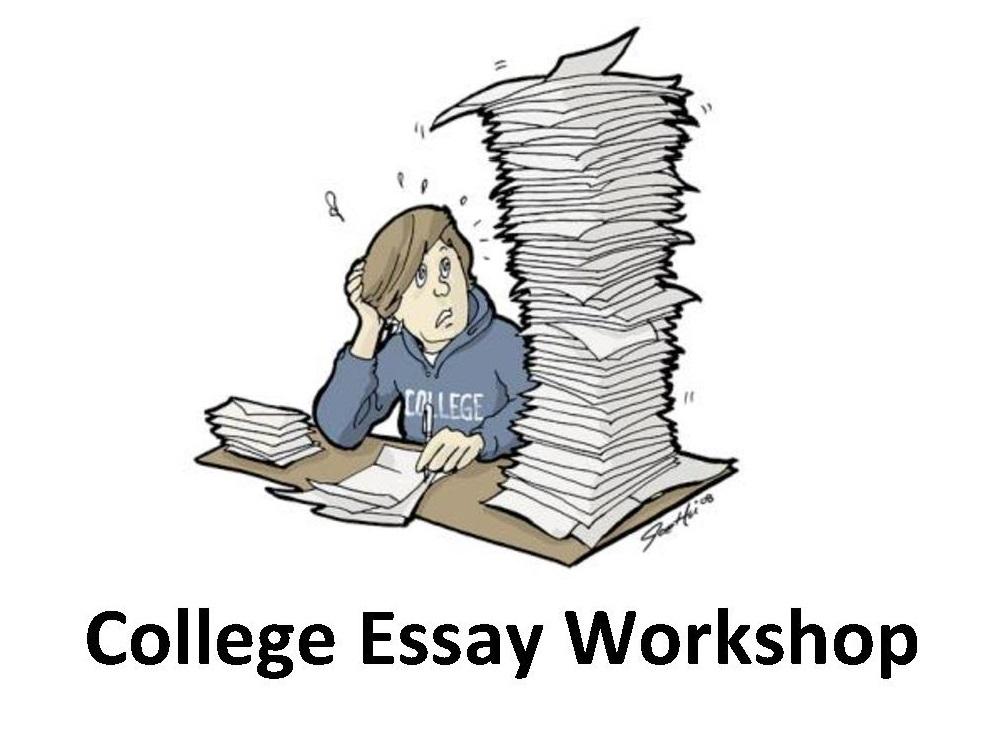 mr petersens college essay workshop  announcement post