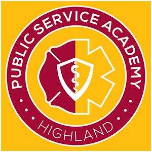 Highland High School Public Service Academy logo
