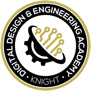 Knight High School Digital Design & Engineering Academy logo