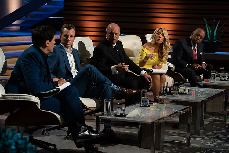 Jamie Siminoff appears on Shark Tank