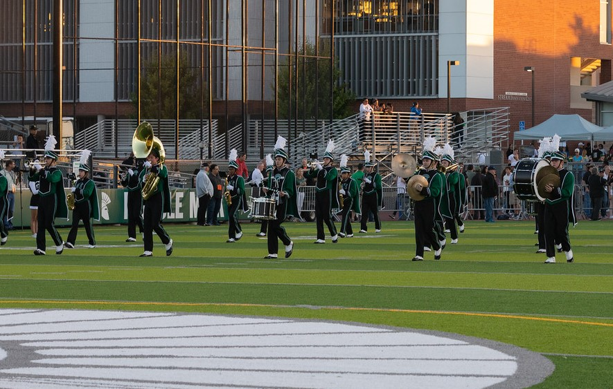 Band at Football