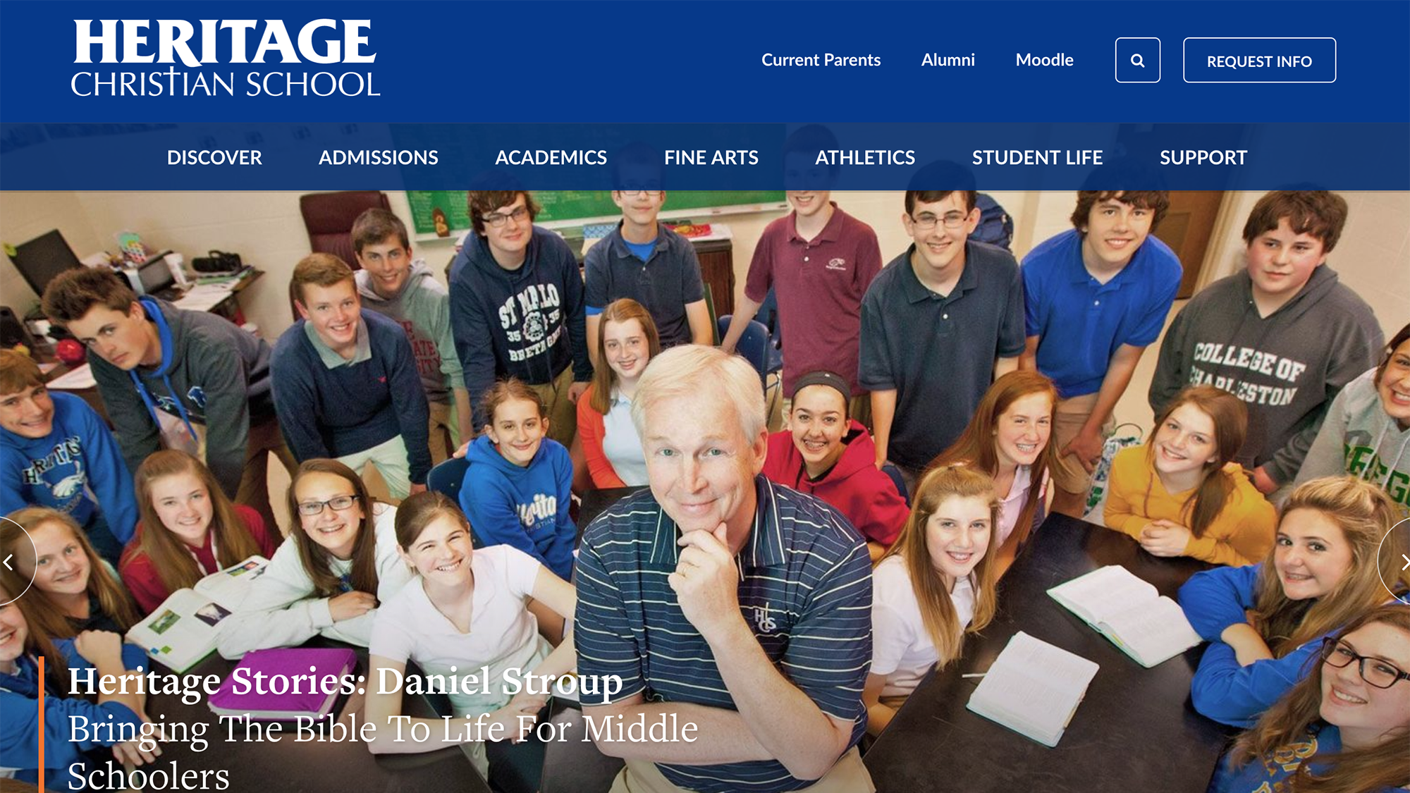 Best Use of a Theme Design Award Winner Heritage Christian (IN)