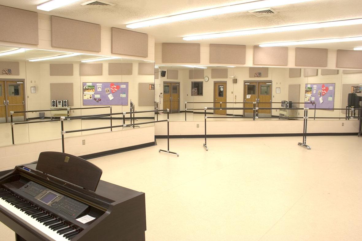 MSL Dance & Choral rehearsal room