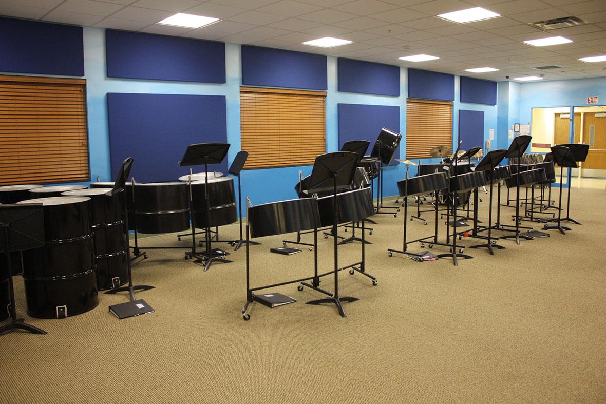 Armleder instrumental practice room