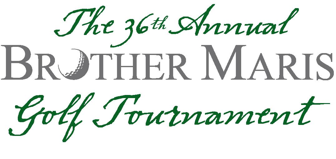 36th Annual Brother Maris Golf Tournament Logo