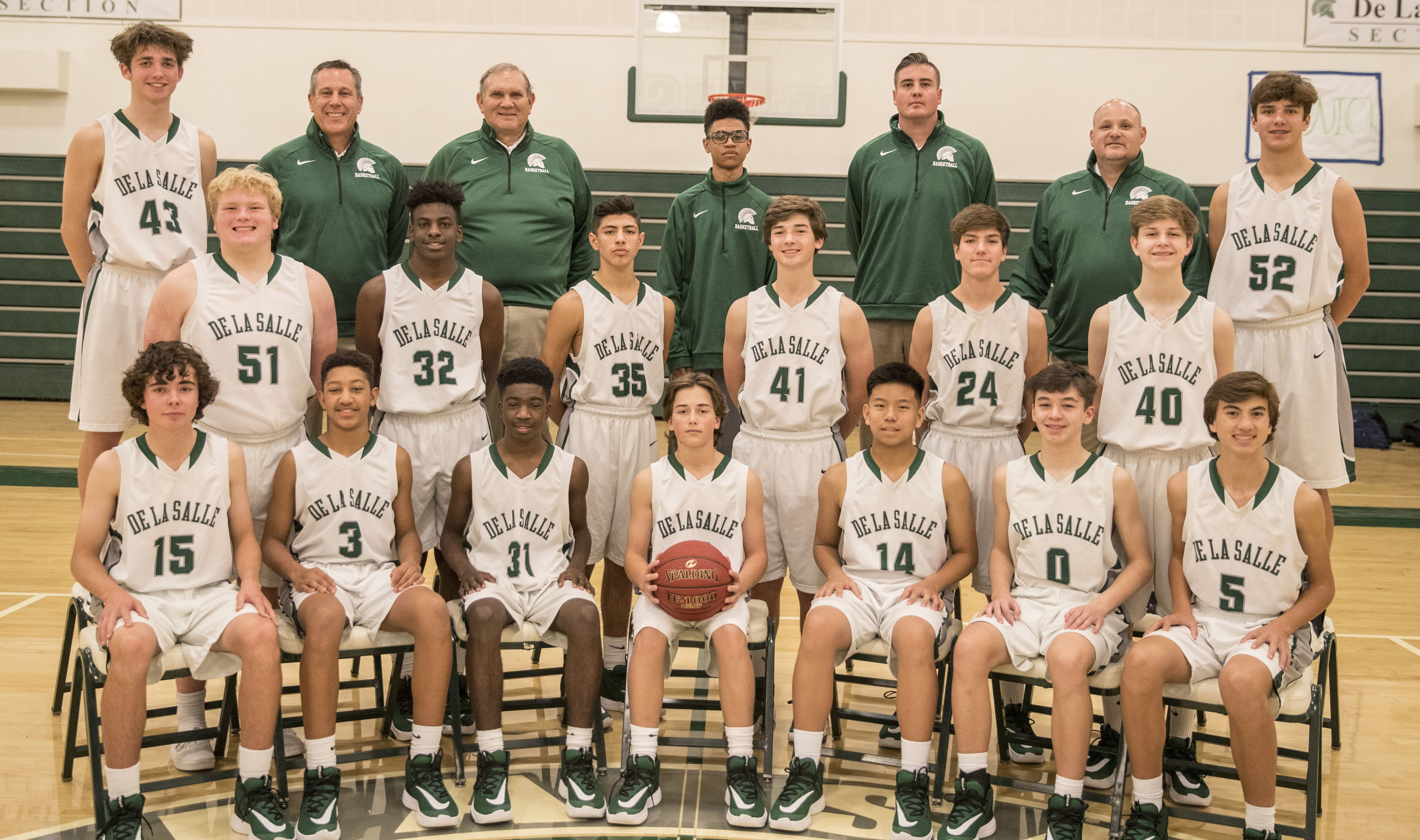 Frosh Silver Basketball Team 2019-20