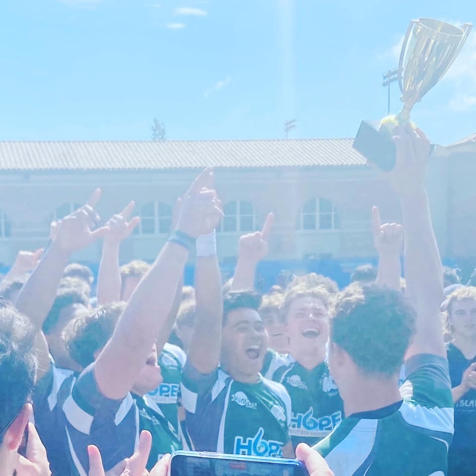 Rugby with 2020 State Trophy