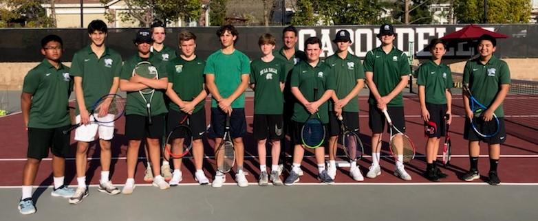 2020 JV Tennis Team Photo