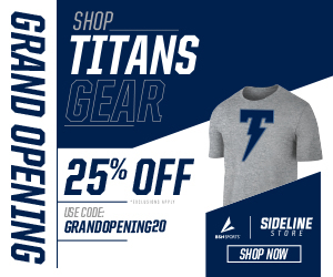 Grand Opening of the  Northshore Titans Online Store