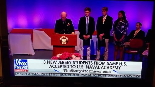MBS Students Make History with Appointments to U S  Naval Academy
